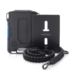 M1 MAVERICK WALLET - SPEC-OPS - BLUELINE + NECK LANYARD & BADGE HOLDER BUNDLE