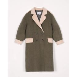 leslie coat - moss