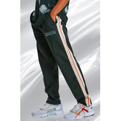 DOVE EMBROIDERED TRICOT TAPE JOGGER