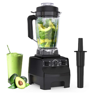 Homgeek, 1450W CACAGOO Countertop Blender