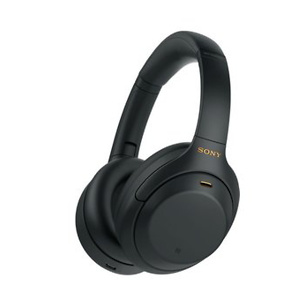 Sony WH1000XM4/B Black Bluetooth Wireless Over-Ear Headphones