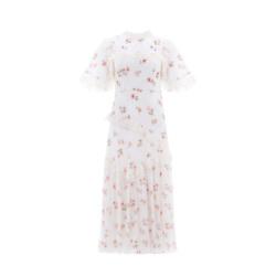 DESERT ROSE LACE BALLERINA DRESS