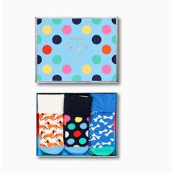 Kids Dog Sock Gift Set 3-pack