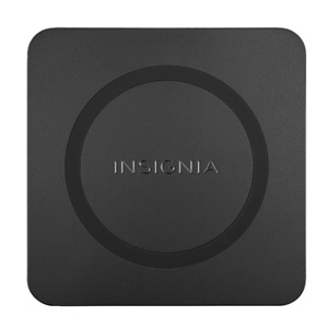 Insignia™ - 15 W Qi Certified Wireless Charging Pad for Android/iPhone - Black