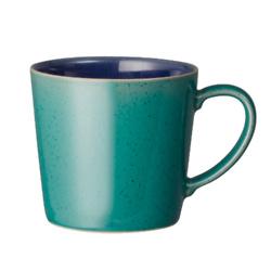Harlequin Green/Blue Large Mug