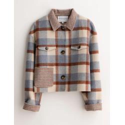 stockholm wool jacket - blue