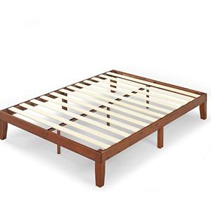 Zinus Wen 12 寸木质鱼骨床架 Queen 无需床箱