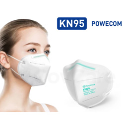 CDC Tested Powecom 99% Filtration KN95 Respirator Face Masks (200 packs)