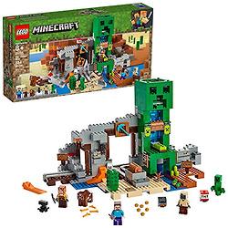 LEGO乐高  Minecraft 我的世界系列 21155 矿洞寻宝