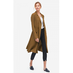 Women Classic Blended Trench Coat