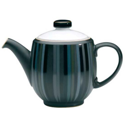 Jet Stripes Teapot
