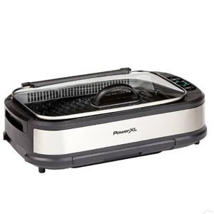 PowerXL Smokeless Grill Pro - Silver