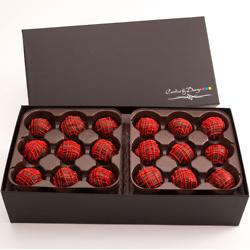 Chocolate Brownie Truffles - 36 Count