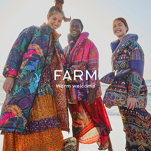 FarmRio: Green Friday & Monday - 30% OFF Sitewide