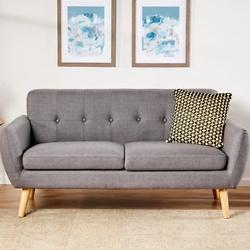 Josephine Mid-century Upholstered Sofa