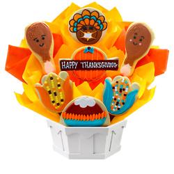 Thanksgiving Feast Cookie Bouquet