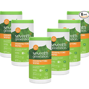 Seventh Generation Disinfecting Multi Surface Wipes