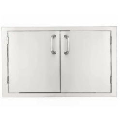 BBQGuys Signature Series 30-Inch Stainless Steel Double Access Door