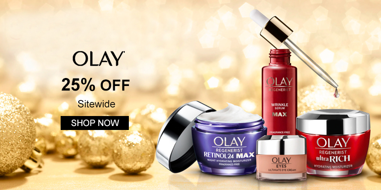 OLAY: 25% OFF Sitewide