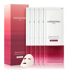 Facial Mask Sheet DONGINBI Red Ginseng MI Mask Stick Vital