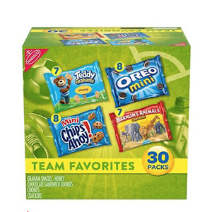 Nabisco Team Favorites Variety Pack