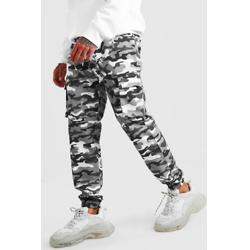棉质混纺迷彩休闲裤