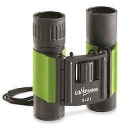 Kruger Compact Roof Prism Binoculars, 8x21mm