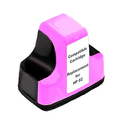 HP C8772WN (HP 02) Remanufactured Magenta Ink Cartridge
