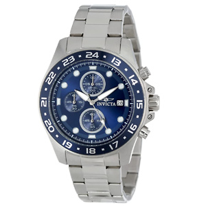 Invicta Men's Pro Diver 45mm Stainless Steel Chronograph Quartz Watch