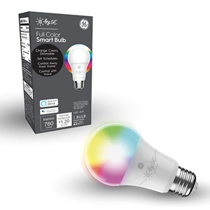 C by GE A19 Smart LED Bulb - Full Color Changing Light Bulb
