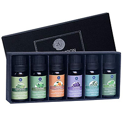 Lagunamoon Essential Oils Top 6 Gift Set Pure Essential Oils