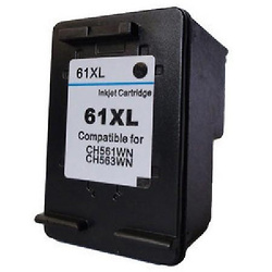 Compatible Black HP 61XL High Yield Ink Cartridge (Replaces HP CH563WN)