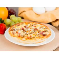 早餐可口披萨