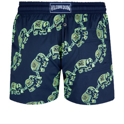 Men Swim Trunks Stretch Elephant Dance Glow in the dark