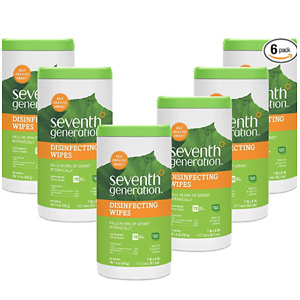 Seventh Generation Disinfecting Multi Surface Wipes, Botanical Disinfectant