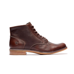 MAGBY MID LACE-UP BOOT FOR WOMEN IN DARK BROWN
