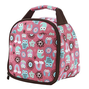Fit & Fresh Gabby Insulated Lunch Bag with Zipper