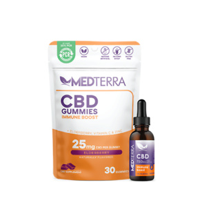 Medterra CBD: 20% OFF Sitewide + Free Immunity Bundle With $100 Purchase