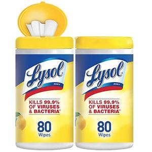 Lysol 消毒湿巾 160片
