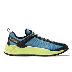 Solar Wave Mesh Sneaker for Men in Blue