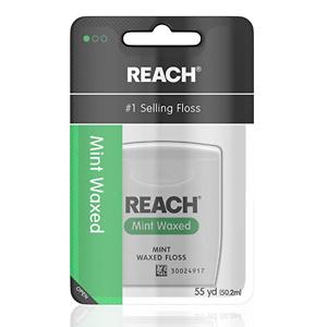 Reach 清新薄荷味牙线 55 Yards