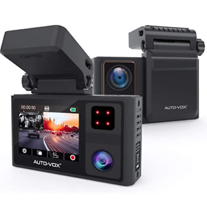AUTO-VOX Dual Dash Cam Front and Inside 1920x1080P