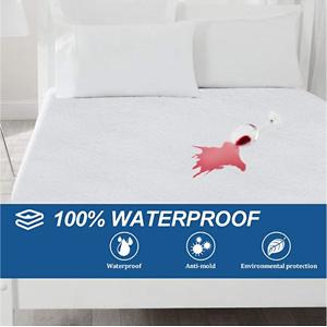 Bonzy Home 100% 防水床垫保护罩 Queen尺寸