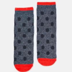 波点带闪袜子