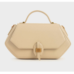 Top Handle Geometric Bag