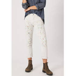 Pilcro Paint-Splattered Carpenter Pants