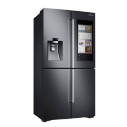 Samsung Family Hub 22-cu ft 4-Door French Door Refrigerator with Single Ice Maker