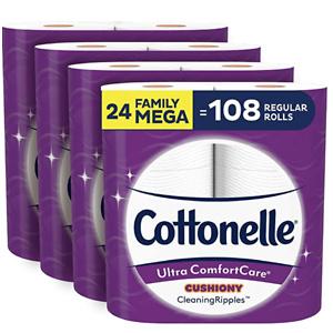 Cottonelle 超舒适卫生纸 24卷超大家庭卷