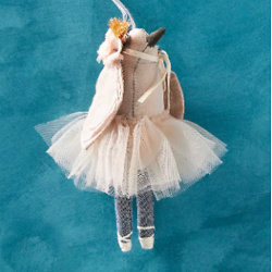 Lena Bekh Ballerina Bird Ornament