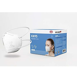 Disposable Protective Respirator with Head Straps